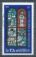 Saint-Pierre Et Miquelon YT N°496 Noel 1988 Oblitéré ° - St.Pierre & Miquelon