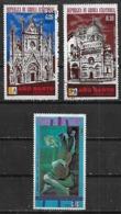1973-5 Guinea Ecuatorial Año Santo-Picasso 3v. Mint. - Equatoriaal Guinea