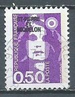Saint-Pierre Et Miquelon YT N°516 Marianne Du Bicentenaire Oblitéré ° - Gebraucht