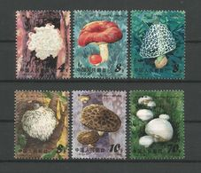 China 1981 Mushrooms  Y.T. 2449/2454 (0) - Funghi