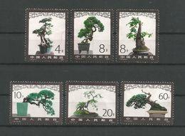 China 1981 Miniature Trees  Y.T. 2407/2412 (0) - Alberi