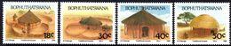 Bophuthatswana - 1989 Traditional Houses Set (**) # SG 227-230 , Mi 227-230 - Bophuthatswana