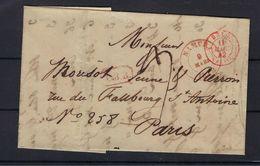 VOORLOPER 1842 VANUIT Namur (Belgium) NAAR Paris (France) - 1830-1849 (Onafhankelijk België)