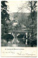 Belgique - Cascade De MARCHE-LES-DAMES - Postée à Liège 1905 - Namur