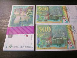 500 Francs Pierre Marie Curie UNC NEUF - 1992-2000 Laatste Reeks
