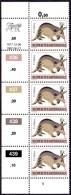 Bophuthatswana - 1977 Tribal Totems 10c P14 Control Block (1982-06-21) (**) # SG 14a , Mi 10Cx - Bophuthatswana
