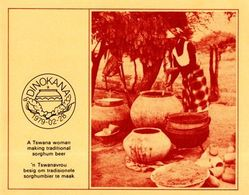 Bophuthatswana - 1979 Production Of Sorghum Beer Collector Sheet # SG 37-40 , Mi 37-40 - Bières