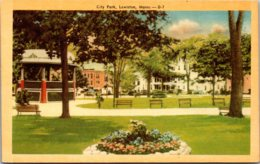 Maine Lewiston City Park Dexter Press - Lewiston