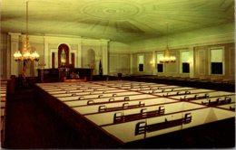 Maine Kennebunkport First Congregational Parish Church Interior - Kennebunkport
