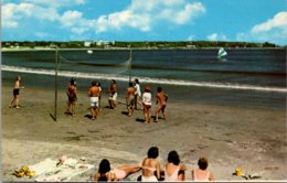Maine Kennebunk Gooch's Beach Volley Ball Game - Kennebunkport