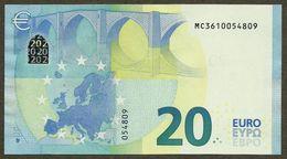 Portugal - 20 Euro - M005 B3 - MC3610054809 - UNC - 20 Euro