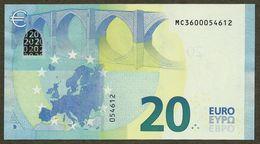 Portugal - 20 Euro - M005 I4 - MC3600054612 - UNC - 20 Euro