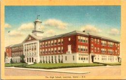 Maine Lewiston High School Dexter Press - Lewiston