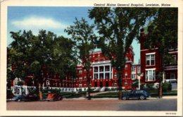 Maine Lewiston Central Maine General Hospital 1944 Curteich - Lewiston