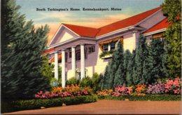 Maine Kennebunkport Booth Tarkington's Home 1953 - Kennebunkport