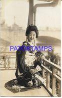 134777 JAPAN COSTUMES GEISHA POSTAL POSTCARD - Giappone