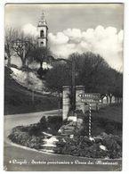 CL222 - CINGOLI MACERATA SCORCIO PANORAMICO E CROCE DEI MISSIONARI 1959 - Altre Città