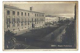 CL238 - BARI REGIA PREFETTURA ANIMATA 1930 - Bari