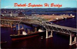 Minnesota Duluth-Superior High Bridge 1968 - Duluth