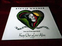STEVIE  WONDER  ° KEEP OUR LOVE ALIVE - 45 Rpm - Maxi-Single