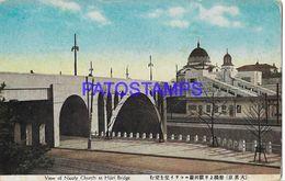 134799 JAPAN VIEW OF NICOLY CHURCH AT HIJIRI BRIDGE POSTAL POSTCARD - Giappone