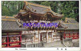 134811 JAPAN THE YOMEIMON POSTAL POSTCARD - Giappone