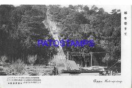 134815 JAPAN BEPPU HOT SPRING & TRAMWAY POSTAL POSTCARD - Giappone