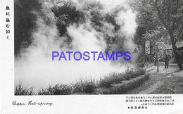 134816 JAPAN BEPPU HOT SPRING  POSTAL POSTCARD - Giappone