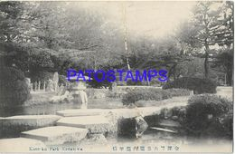 134818 JAPAN KENREKU PARK KANAZAWA POSTAL POSTCARD - Giappone