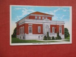 Masonic Temple Tonkawa  Oklahoma     Ref 4120 - Etats-Unis