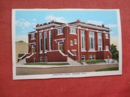 Christian Church  Tonkawa  Oklahoma     Ref 4120 - Etats-Unis