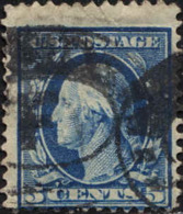 USA Poste Obl Yv: 171 Mi:166Ax George Washington 1th President Of The U.S.A. (TB Cachet Rond) - Used Stamps