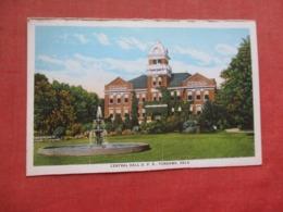 Central Hall U.P.S.  Tonkawa  Oklahoma     Ref 4120 - Etats-Unis