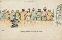 GUILLAUME ILLUSTRATEUR - A LA COUR D'ASSISES - N° C.23 - Guillaume