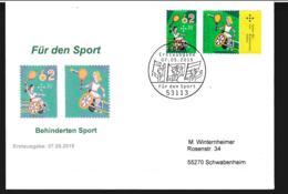 Germany FDC 2015 Handisport Für Den Sport Welfare (G105-60) - Handisport