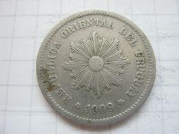 Uruguay , 5 Centesimos 1909 - Uruguay