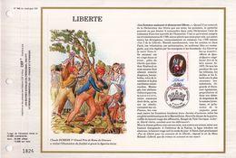 """"""" LIBERTE / REVOLUTION FRANCAISE """" Sur Feuillet CEF De 1989 N° YT 2573. Parfait état.FDC - Révolution Française"""