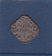 HELVET ,,, REPUBL ,,,/ 5 ......1/2 Batzen 1799 ,,je Ne Connais Pas Du Tout,peut-etre Une Ancienne Piéce SUISSE - Zwitserland
