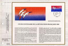 """"""" BICENTENAIRE DE LA REVOLUTION FRANCAISE """" Sur Feuillet CEF. N° YT 2560. Parfait état - Révolution Française"""