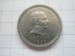 Uruguay , 2 Centesimos 1953 - Uruguay