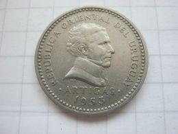 Uruguay , 5 Centesimos 1953 - Uruguay