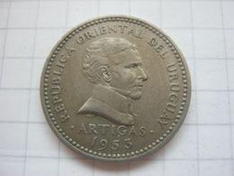 Uruguay , 10 Centesimos 1953 - Uruguay