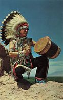 CPSM - USA - Blue Sky Eagle Dancer From The Acoma Pueblo Between Albuquerque And Grants, New Mexico - Etats-Unis