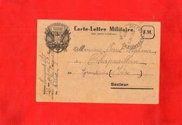 G0406 - Carte-Lettre Militaire - Militaria