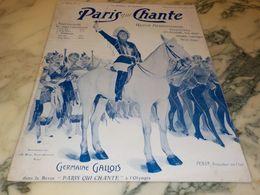 PARIS QUI CHANTE 1903 - Scores & Partitions