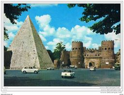 ROMA:  PIRAMIDE  DI  CAIO  CESTIO  E  PORTA  S. PAOLO  -  FG - Autres Monuments, édifices