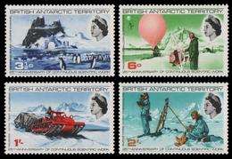 BAT / Brit. Antarktis 1969 - Mi-Nr. 20-23 ** - MNH - Forschung - Unused Stamps