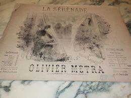 LA SERENADE  VALSE ESPAGNOL OLIVIER METRA - Scores & Partitions
