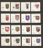 Allemagne Fédérale - 1992/94 - Armoiries Des Länders - Série Complète MNH - Stamps
