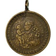 Italie, Médaille, San Antonio Di Padova, Religions & Beliefs, TTB+, Bronze - Otros